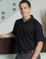 Mens Merino Short Sleeve Polo