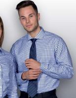 Mens Identity Check Shirt