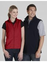 Mens Plain Poly Fleece Vest