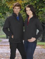 Mens Plain Soft Shell Jacket