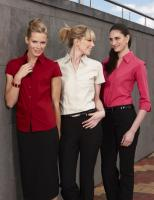 Ladies S/S Metro Stretch Shirt