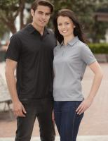 Ladies Micro Waffle Polo  
