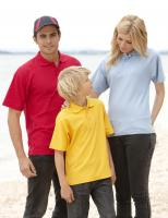 Kids Pique Knit Polo      