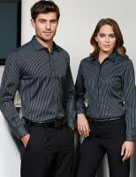 Ladies Reno Stripe L/S Shirt