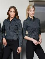 Ladies Reno Stripe 3/4 Shirt