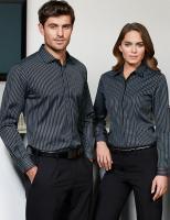 Mens Reno Stripe L/S Shirt