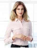 Madison Ladies L/S Blouse