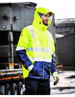 Hi Vis 4in1 Waterproof Jacket
