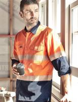 Rugged Cooling Hi Vis LS Shirt