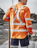 Mens Hi Vis X Back Taped Shirt