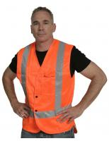 Vest Dome D/N Orange