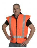 Rev. PU Coated Vest Orange