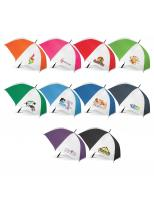 25 x Hydra Sports Umbrella - White Panels with Print