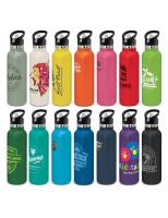 25 x Nomad Vacuum Bottle - Powder Coated with Print