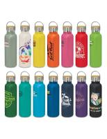 25 x Nomad Deco Vacuum Bottle - Powder Coated with Print