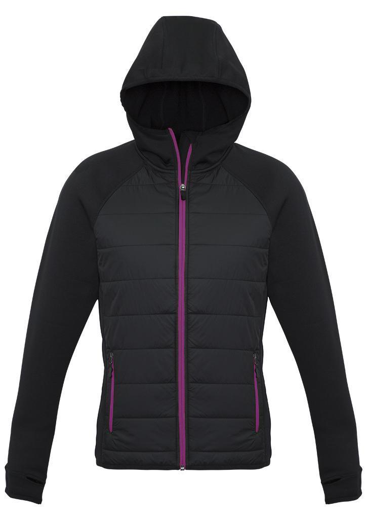 magenta stealth hoodie tech jacket ladies