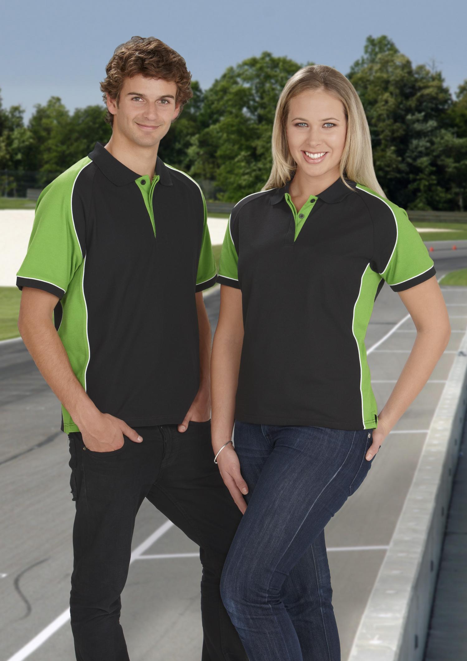 Womens Navy Polo Shirt