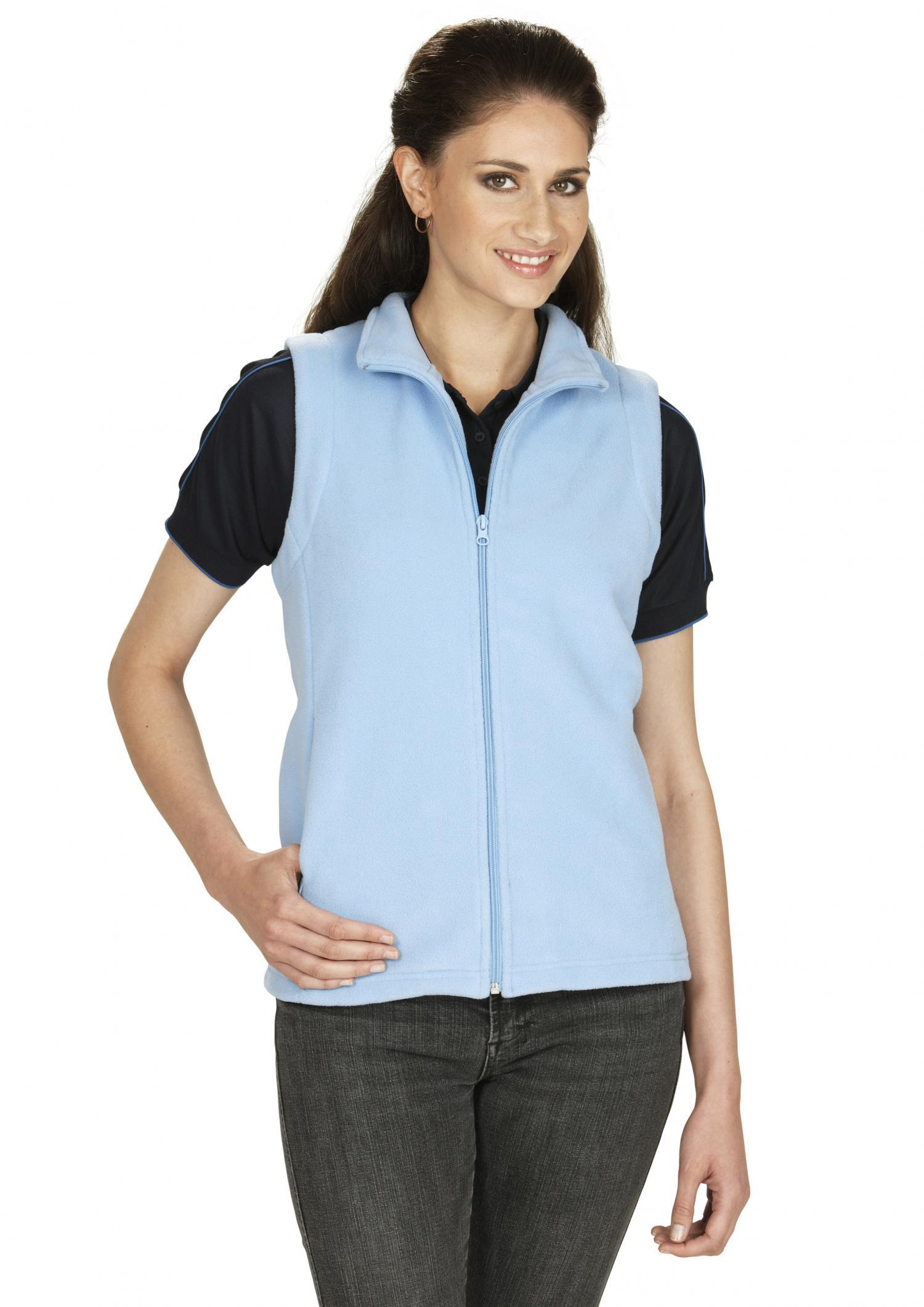 quality design b6f09 f398f Ladies Poly Fleece Vest