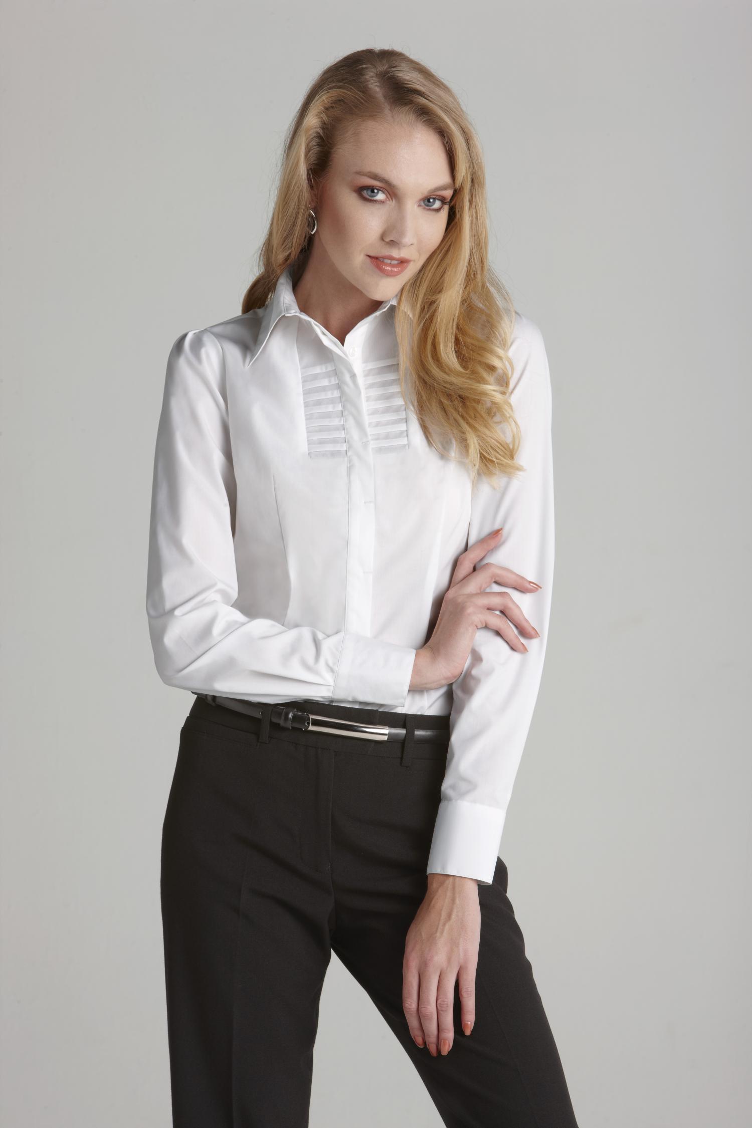 Ladies Berlin Long Slv Shirt Business Shirts The