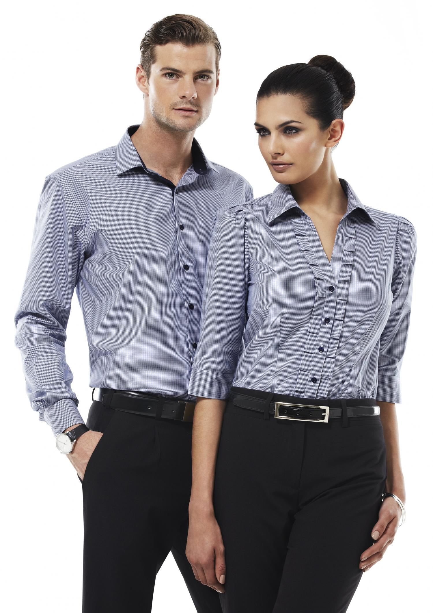 Mens l s edge shirt business shirts the uniform factory for Business shirts for men