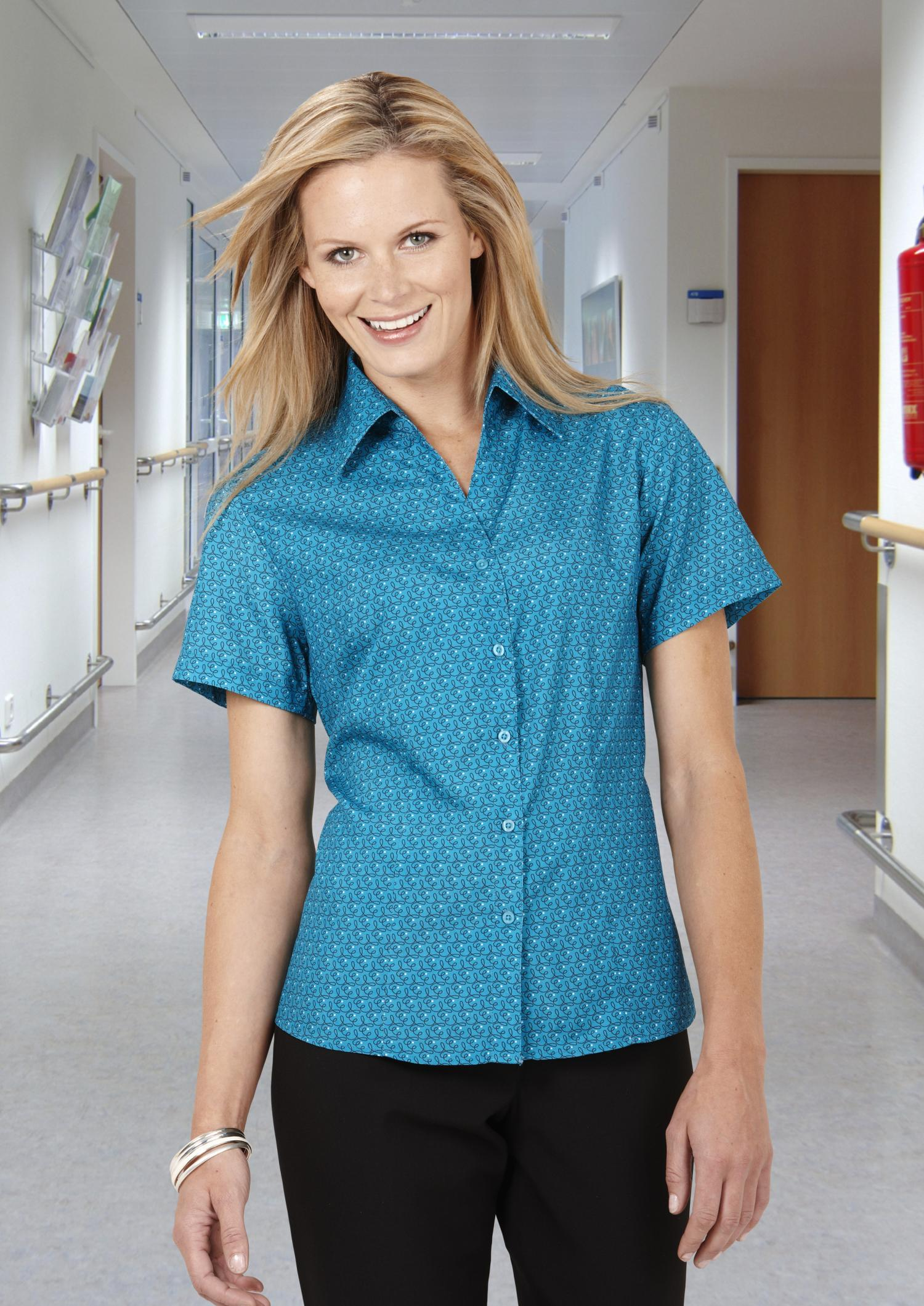 Ladies Printed Oasis Shirt