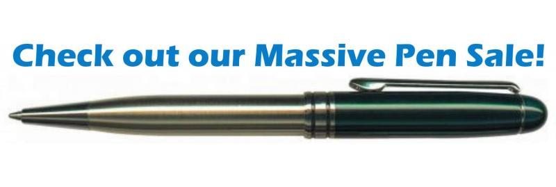 Check out our massive pen sale!